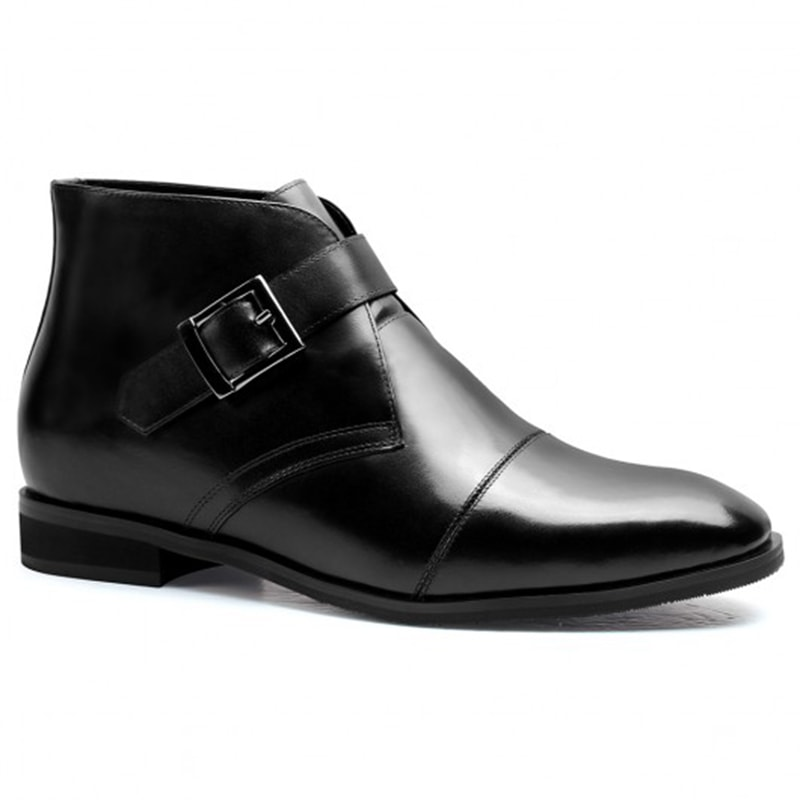 High Heel Boots For Men Height Increasing 7 CM / 2.76 Inches