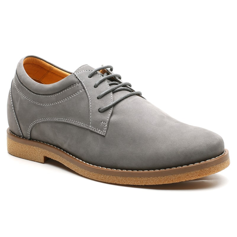 Mens Shoes With Heels Height High Heels Platform Casual Shoes For Mens 6 Cm/2.36 Inches