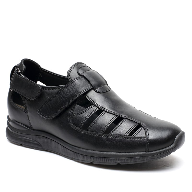 Hidden High Heel Men Elevator Stylish Outdoor Adjustable Strap Fisherman Sandal