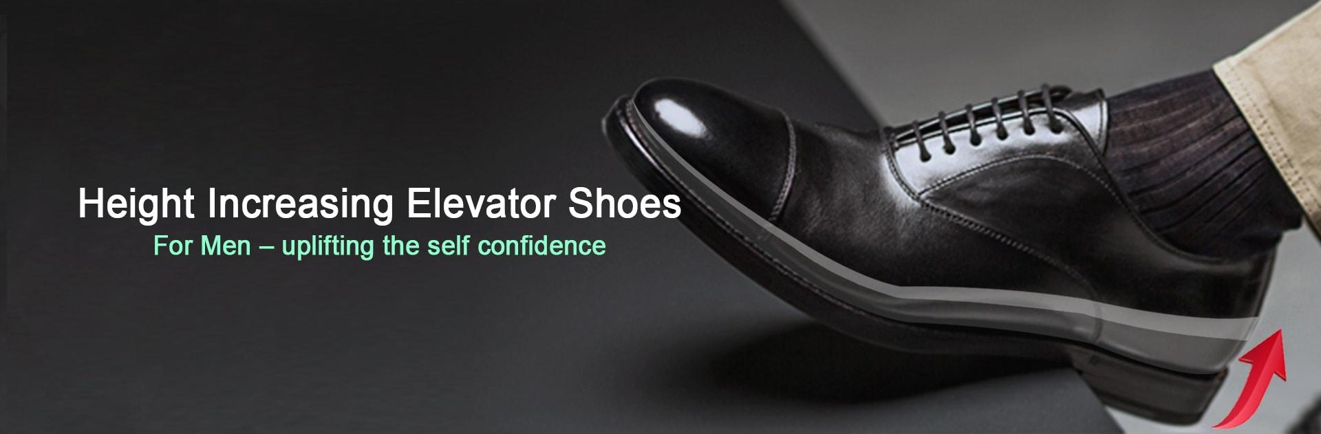 Height Increasing Elevator Shoes