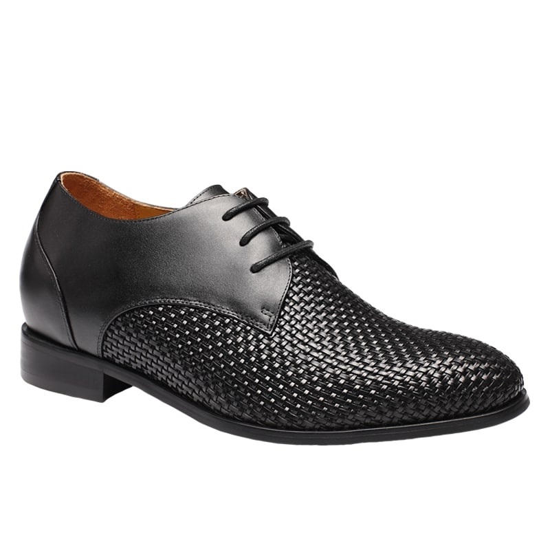 Height Increasing Shoes Men Boutique Style Wedding Shoes Gives Taller Look-7.5cm (2.95 Inch)