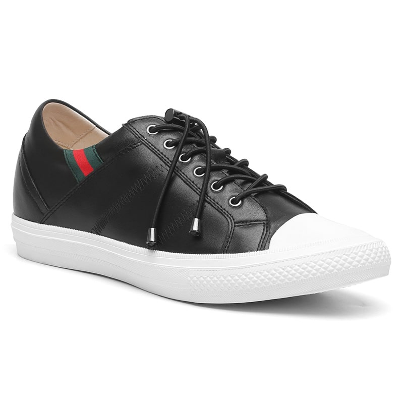 Men High Heel Casual Shoes Extra Height 6 CM/2.36 Inches