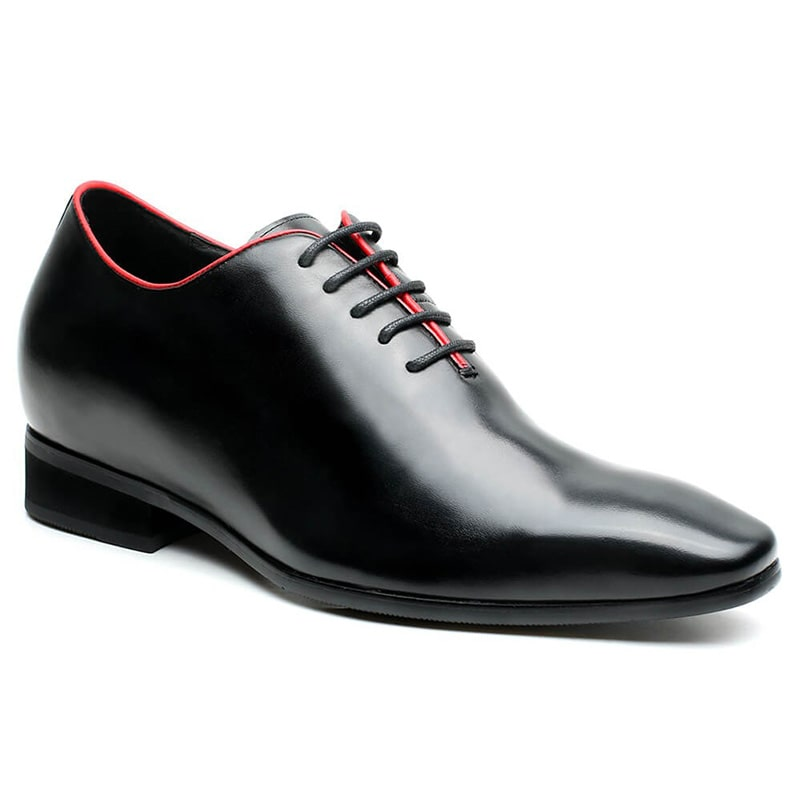 Elevate Shoes For Men Extra Height Shoes Black Height Increase Dress Shoes